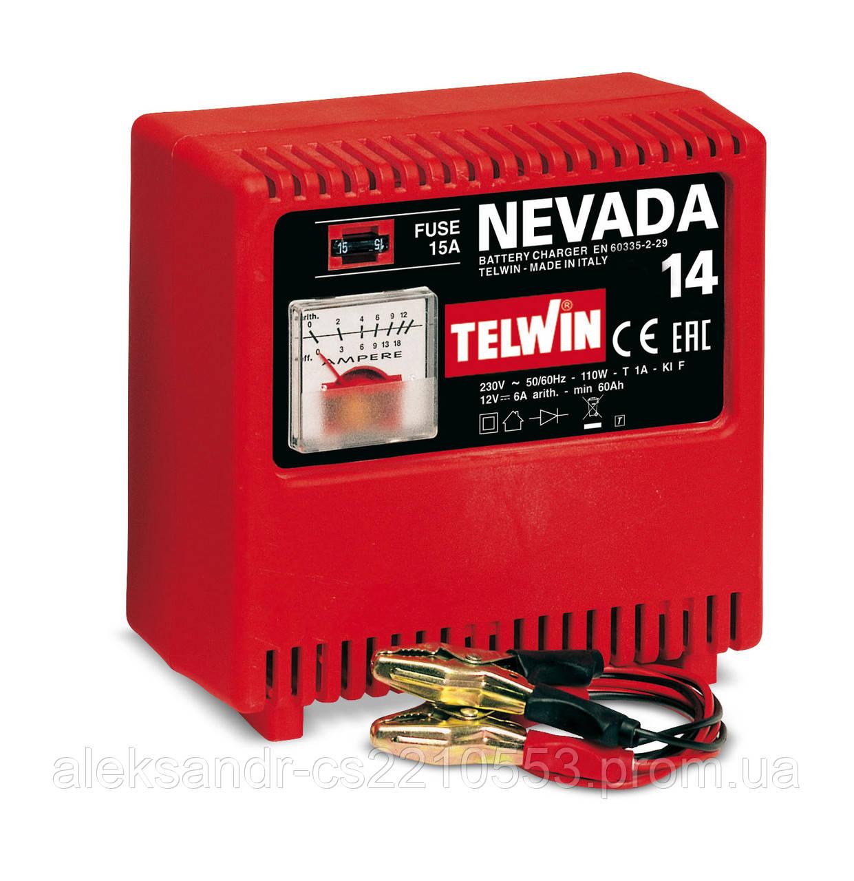 Telwin Nevada 14 - Зарядное устройство