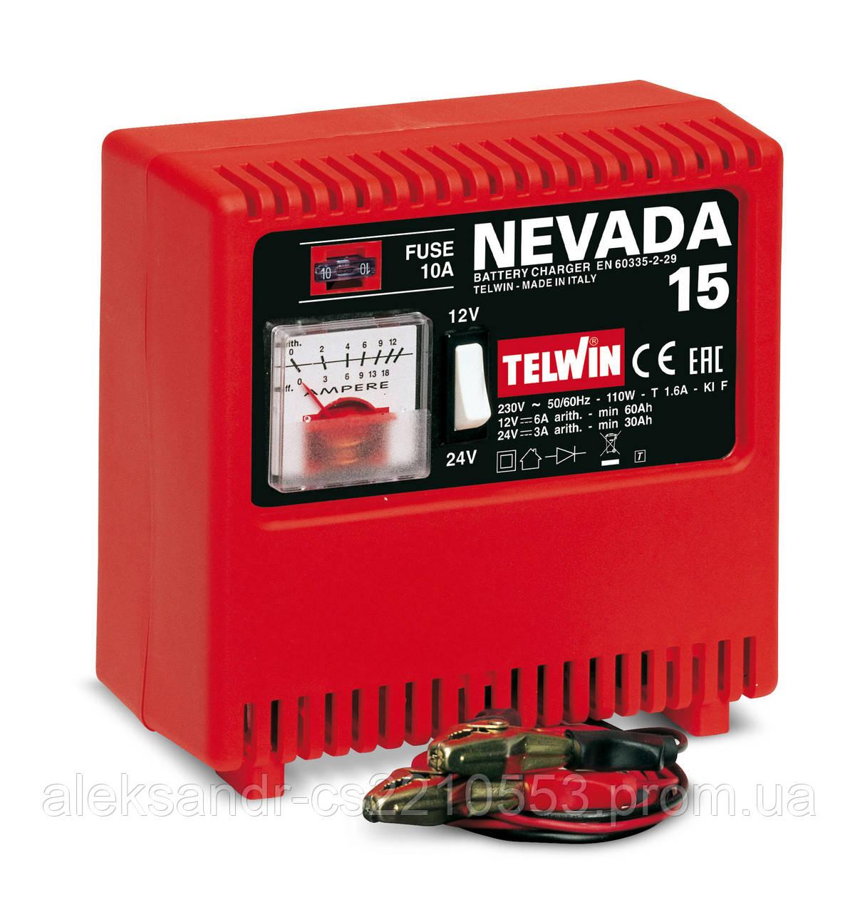 Telwin Nevada 15 - Зарядное устройство