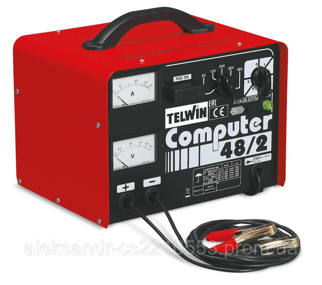 Telwin Computer 48/2 Prof - Зарядное устройство