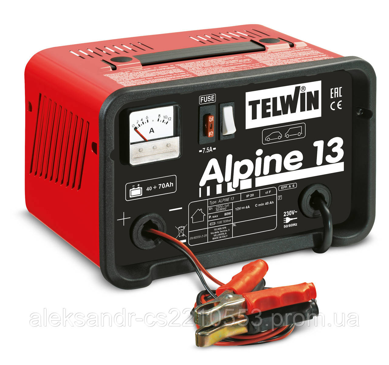 Telwin Alpine 13 - Зарядное устройство