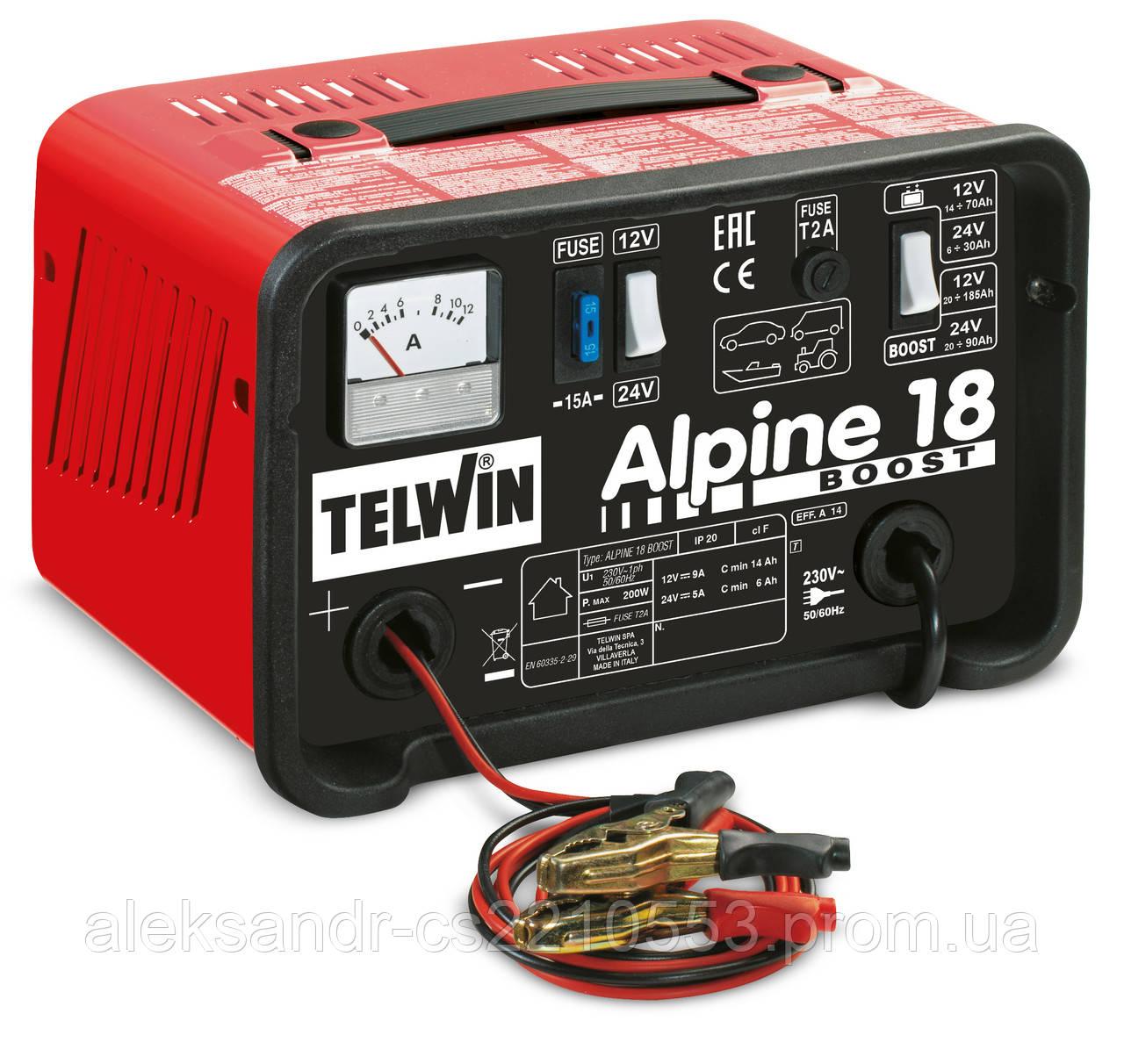Telwin Alpine 18 boost - Зарядное устройство