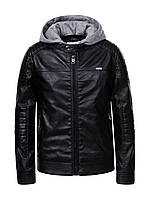 Куртка на мальчиков эко кожа.98/128 см