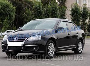 Ветровики Cobra Tuning на авто VW Jetta V Sd 2005 Дефлекторы окон Кобра для VW Sagitar 2006-2012