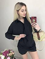 Стильное женское платье мини /разные цвета, 42-44, ft-438/
