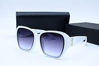 Солнцезащитные очки YSL 32 белые, фото 1