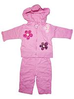 Спортивный костюм для девочек на рост 56-64 см