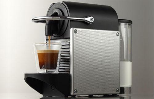 Кофемашина DeLonghi Nespresso EN 125 Pixie