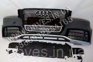 Передній бампер Audi A5 8T 2008-2012 в стилі RS5 Black Edition