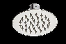 Душ верхний 100 мм круглый на шарнире из нержавеющей стали, фото 2
