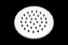 Душ верхний 100 мм круглый на шарнире из нержавеющей стали, фото 3