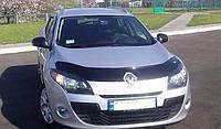 Дефлектор на капот (мухобойки) Renault Megan III 2008-