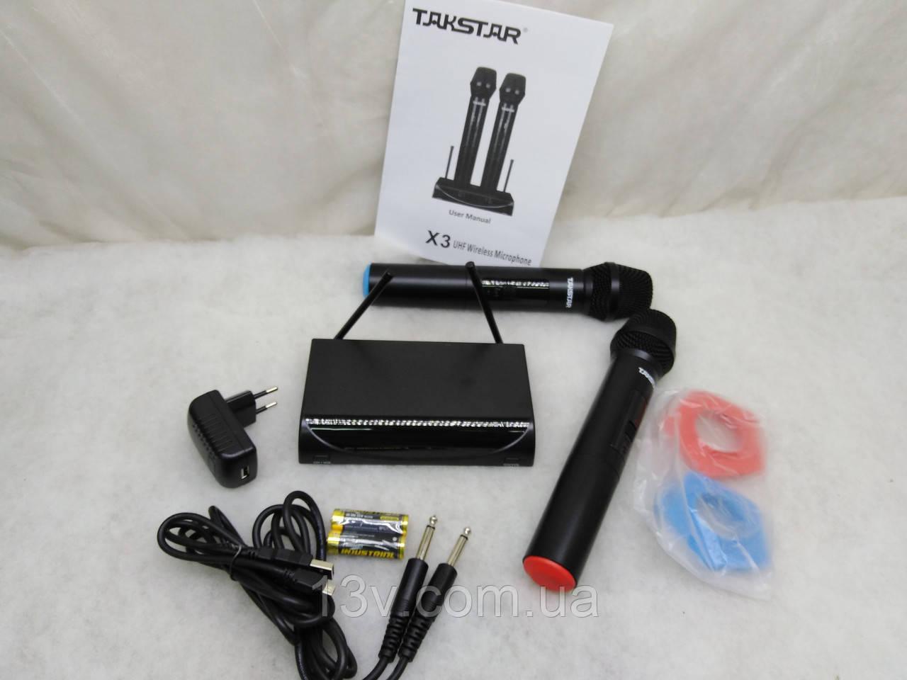 Радіомікрофон (Радиомикрофон) Takstar X3