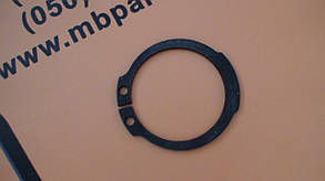 821/00494 Стопорное кольцо бортовой на JCB 3CX, 4CX, фото 2