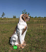Садовая фигура собака Сенбернар, фото 3
