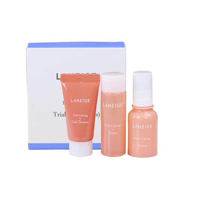 LANEIGE Успокаивающий и освежающий набор 3 позиции Fresh Calming Trial Kit 3 Items