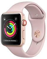 Смарт часы IWO 10 Apple Watch 1:1 series 4 pink