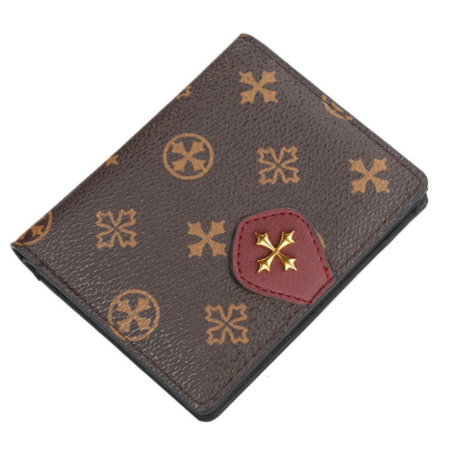 Жіночий гаманець BAELLERRY N5539 Fashion Style Mini клатч Коричнево-Червоний (SUN5511)