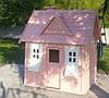 Игровой домик для детей Элли деревянный уличный