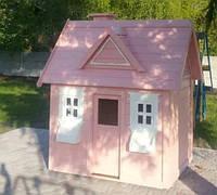 Игровой домик для детей Элли деревянный уличный, фото 1