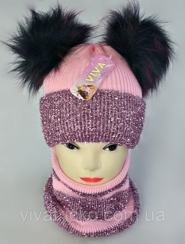 М 5097 Комплект зимний для девочки, разные цвета