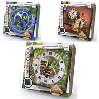 Набор для творчества Настенные часы вышивка гладью и бисером Embroidery clock /АльянсТрест/