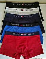 Набор мужских трусов Tommy Hilfiger 5 штук в фирменной упаковке < трусы боксеры > Реплика