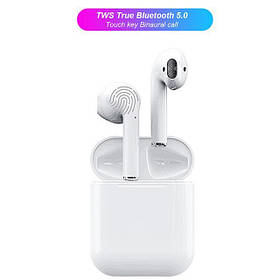 Наушники Bluetooth Air TWS i12 5.0 pods | Touch+ PopUp