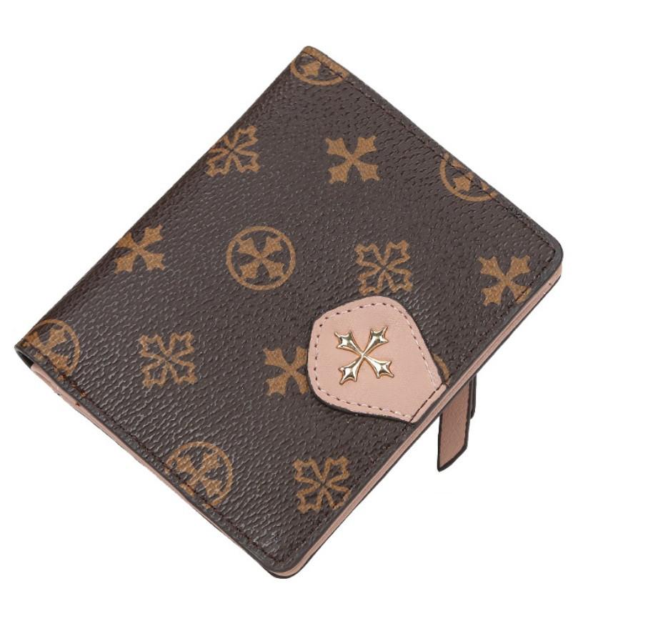 Жіночий гаманець BAELLERRY N5539 Fashion Style Mini клатч Коричнево-Рожевий (SUN5513)