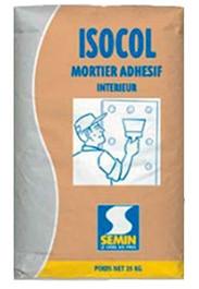 Раствор клеевой Semin Isocol, клей для монтажа гипсокартона, 25 кг.