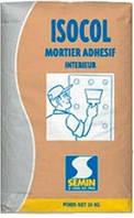 Клей для ГЛК Semin Isocol Mortier, мішок 25 кг.