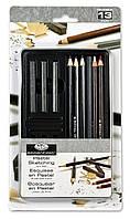 Набор для графики в пенале Small Tin Pastel Sketching /13 предметов/