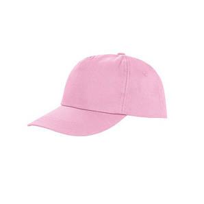 Пятипанельная кепка Светло-Розовый