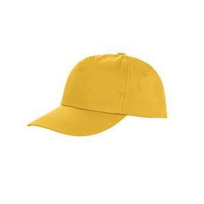 Пятипанельная кепка Желтый