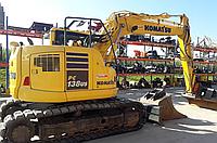 Гусеничный экскаватор Komatsu PC138US-101 2014 г.в., фото 1