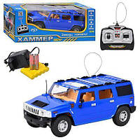 Машинка Джип на радиоуправлении на аккумуляторах Хаммер 396-20