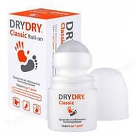 Дезодорант Драй-Драй Классик Ролл-он -Эффективная защита от пота  (35мл,Швеция)