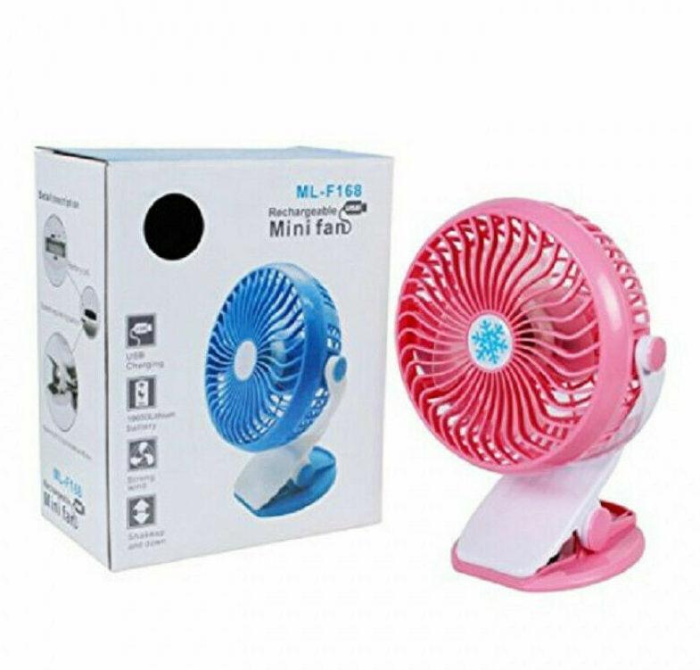 Вентилятор портативный с прищепкой FANP-168
