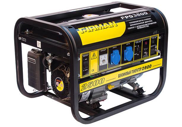 Бензиновый генератор Firman FPG3800, фото 2