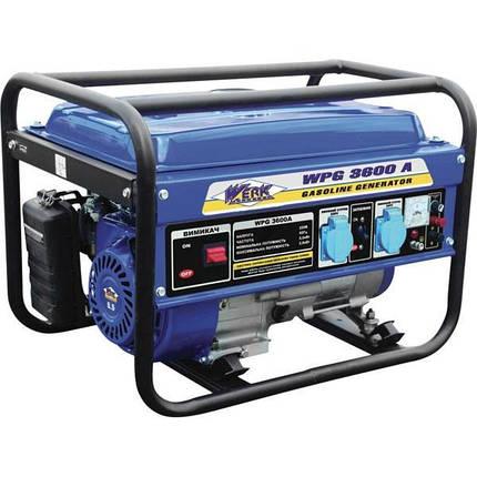 Бензиновый генератор Werk WPG 3600, фото 2
