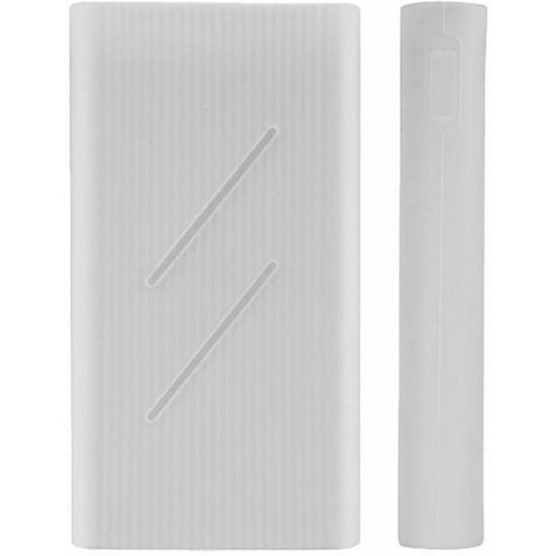 Силіконовий чохол Xiaomi Silicone Protector Case for Xiaomi Mi Power Bank 2C White (SPCCXM20W)