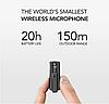 PicoMic 24bit/48Кhz Радио петличка микрофонная система для видеоблогеров + усовершенствованный аудиоприемник