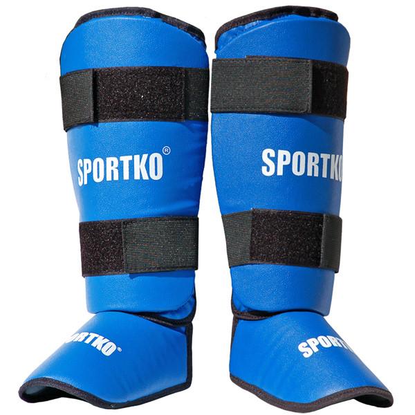 Захист для ніг SPORTKO арт. 331 синій, під замовлення, 5 днів