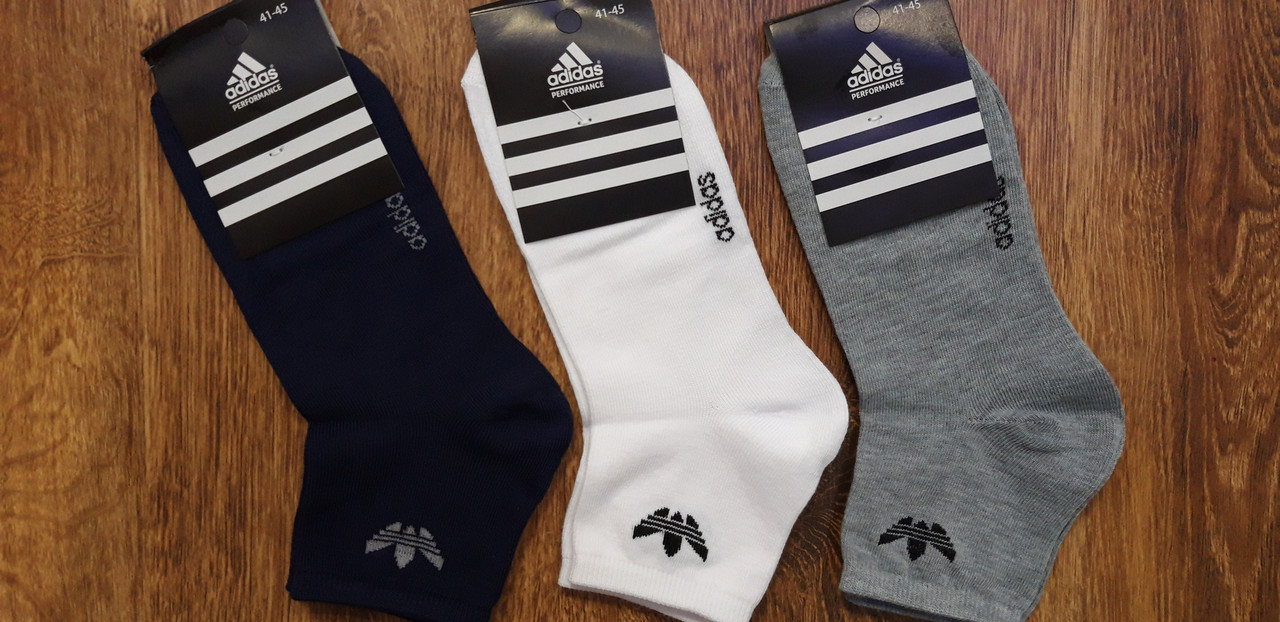 """Мужские спорт.носки в стиле""""Adidas"""",Турция,оригинал 41-45"""