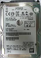 Жесткий диск HDD 750GB 7200rpm 16MB SATA II 2.5 Hitachi HTS727575A9E364 84G1S6LG, фото 1