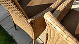 Обідній комплект меблів зі столом для саду ENDO 8+1, фото 5