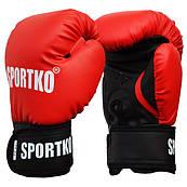 Боксерські рукавички SPORTKO арт.ПД1 10oz (унцій), під замовлення, 5 днів