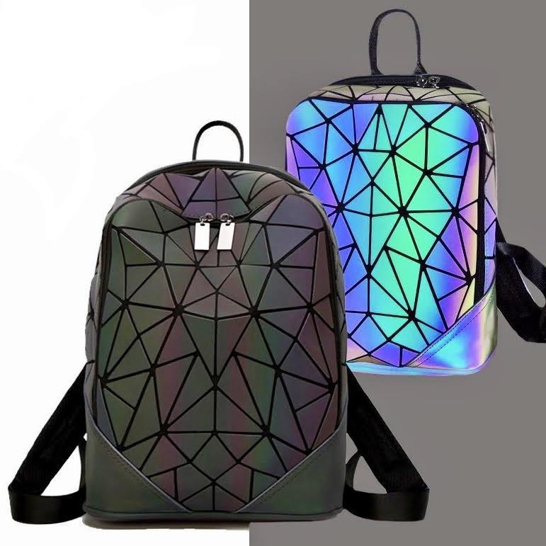 Молодежный рюкзак для города с отделением для ноутбука Бао Бао Хамелеон Эвелина, Bao Bao Issey Miyake 3031