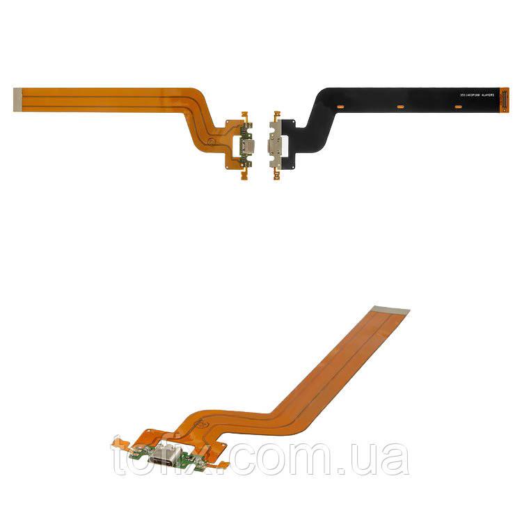 Шлейф для Xiaomi Mi Pad 2, коннектора зарядки, с компонентами, оригинал