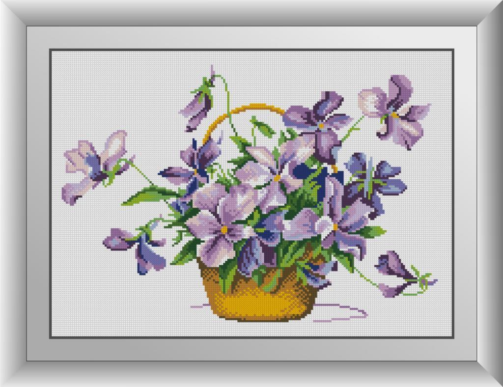 Набор алмазной живописи Пролески Dream Art 30873 (35 х 49 см)