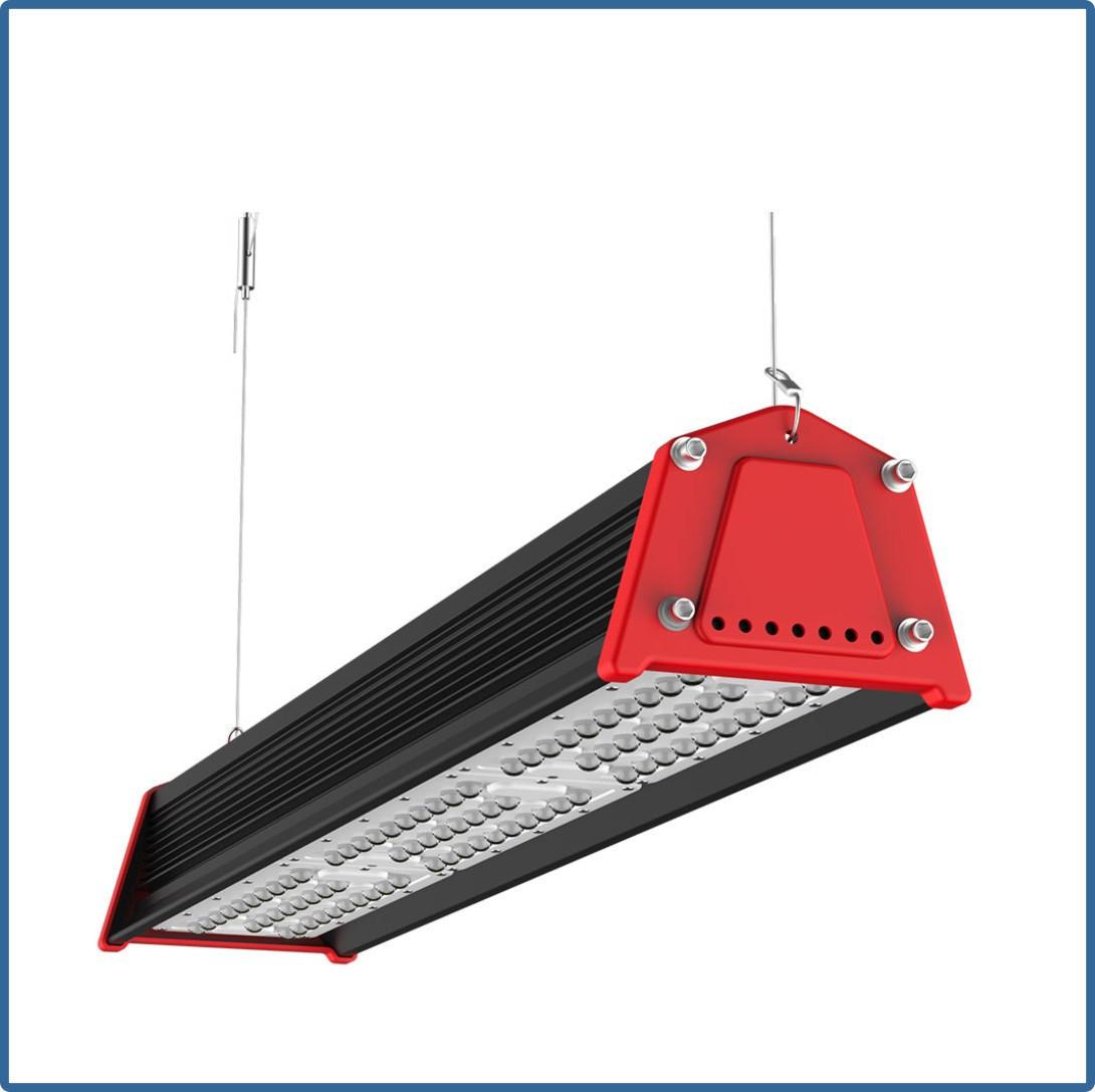 Светодиодный линейный подвесной светильник Kosmos HRack 120 Вт